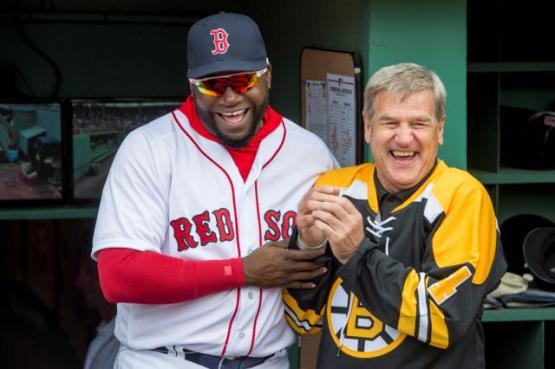 Papi and Bobby Orr